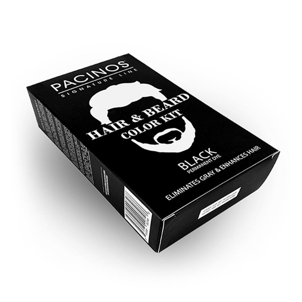Hair & Beard Color Kit Black